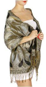 serenita D10 Lurex Paisley Pashmina 01 fashionunic