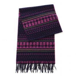 SERENITA O65 Cashmere Feel Scarf 87602 Purple